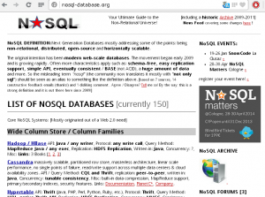 nosql database management system